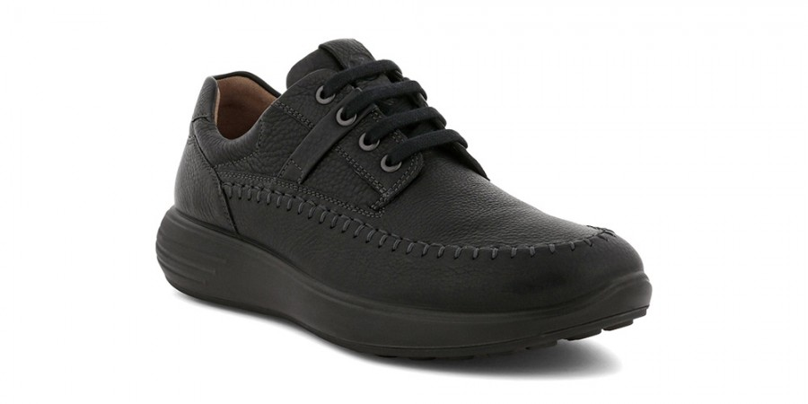 Ecco Soft 7 Runner Black - Herenschoenen